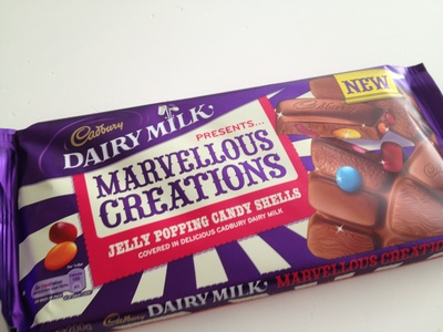 Cadbury, limited edition, popping candy