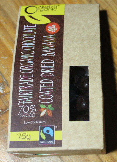 ABsolute ORganic CHocolate Banana Balls