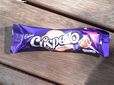 cadbury crispello double choc