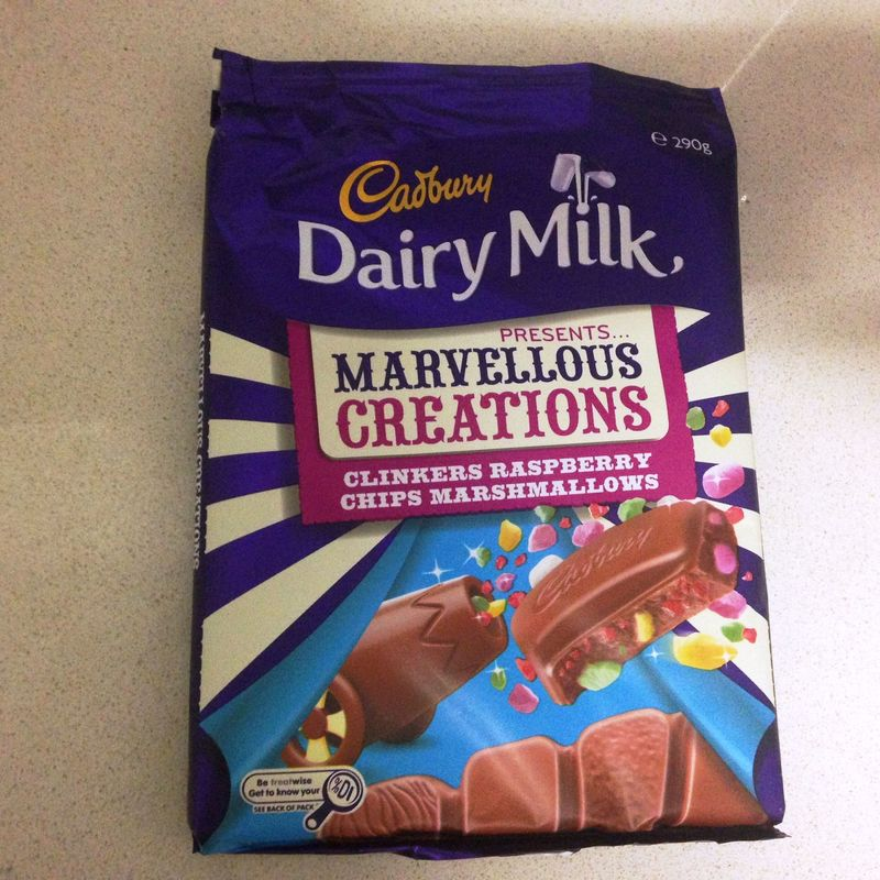 Cadbury marvelous