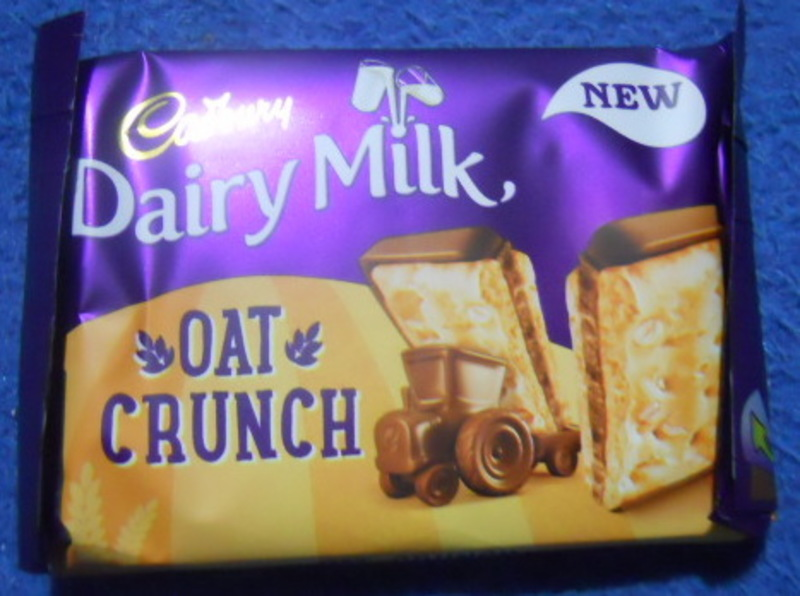 cadbury's, dairy milk, oat crunch