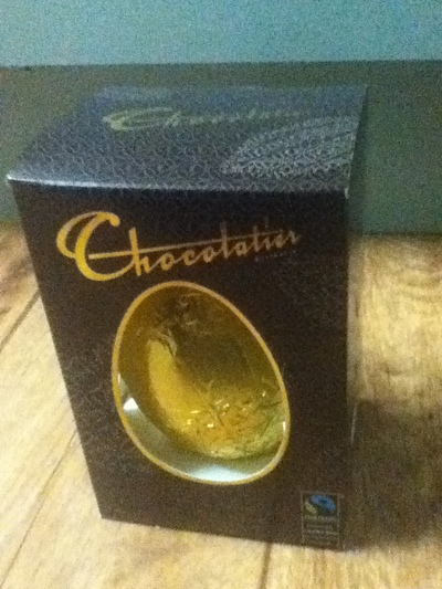 Chocolatier Australia fair trade dark chocolate easter egg, fair trade easter egg