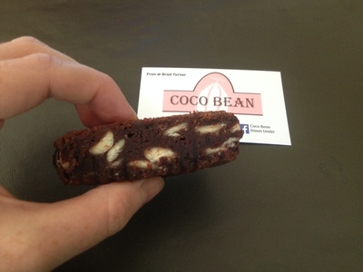 coco bean down under, chocolate brownies