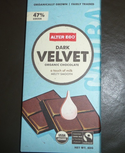 dark velvet, chocolate, alter eco