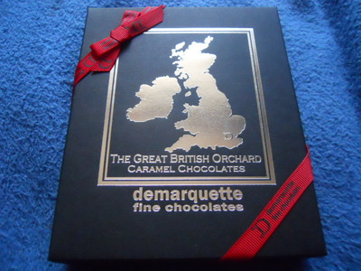 demarquette, great british orchard, caramels