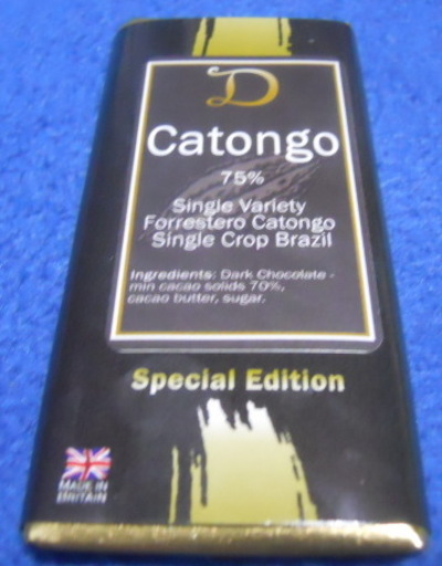 demarquette, special edition, catonga, brazil, chocolate bar