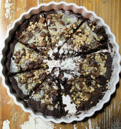 Easter Chocolate Pizza