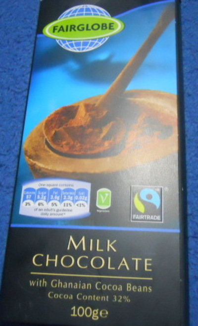 fairglobe, milk chocolate