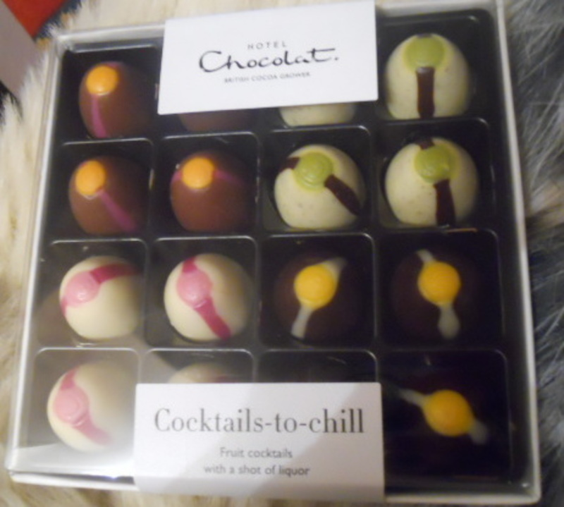 hotel chocolat, cocktails, chill