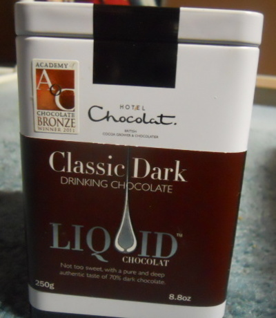hotel chocolat, liquid chocolate, drinking chocolate
