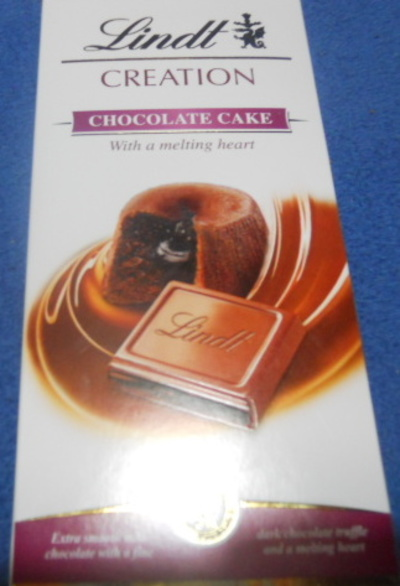 lindt, chocolate cake, chocolate bar, creations