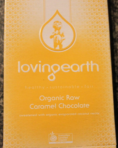 loving earth, caramel