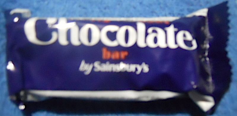 sainsbury's, nutty nougat, chocolate bar