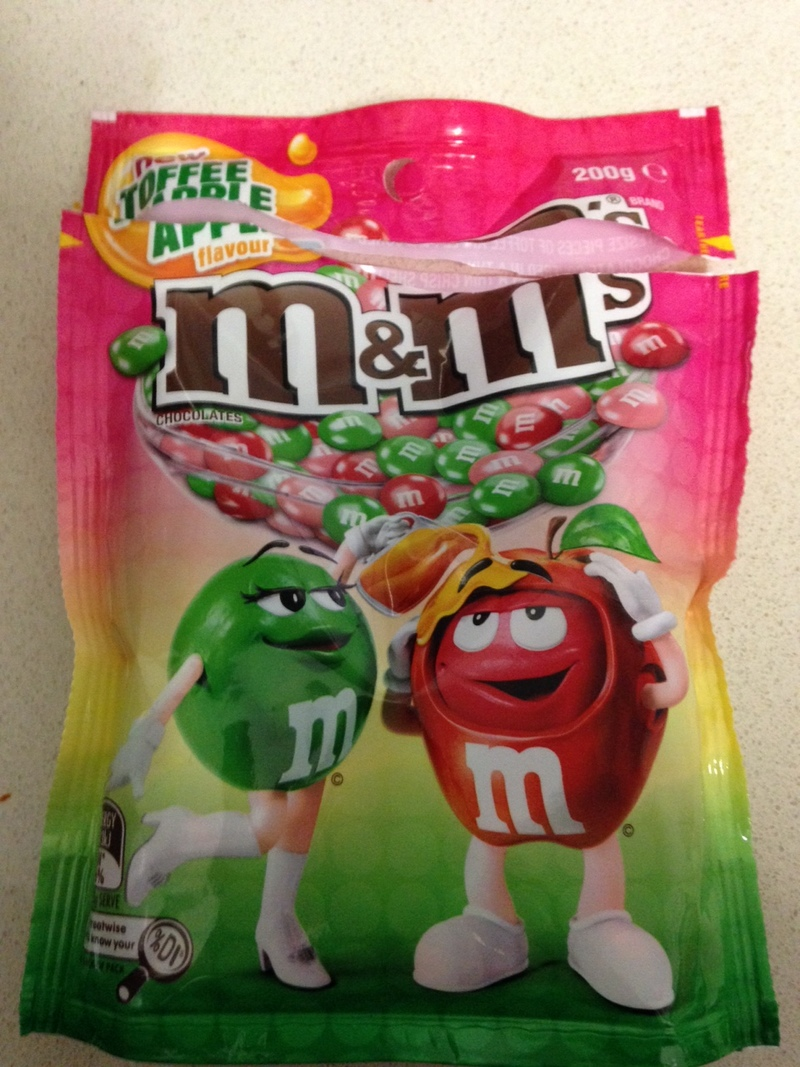 toffee apple mms